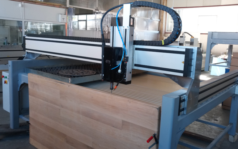 frezare in cant CNC