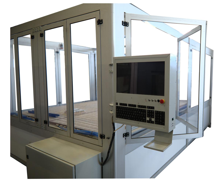 router CNC General Numeric LC-PRO2032 2000x3200x210 mm, spindle ISEL 3.6 kW, schimbare automata de scule si inchidere